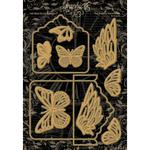 Tag, Pocket & Butterfly Graphic 45 Staples Dies - PRE ORDER