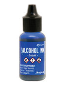 Cobalt Alcohol Ink .5oz - Tim Holtz