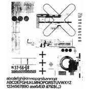 Glitch 2 Tim Holtz Cling Stamps - PRE ORDER