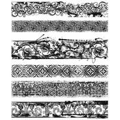 Eclectic Edges Tim Holtz Cling Stamps - PRE ORDER