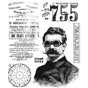 The Professor 2 Tim Holtz Cling Stamps - PRE ORDER