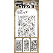 Set #47 Tim Holtz Mini Layered Stencil Set