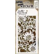 Bouquet -Layered Tim Holtz Layered Stencil