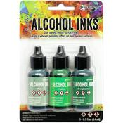 Mint/Green Spectrum Alcohol Ink .5oz 3/Pkg - Tim Holtz - PRE ORDER