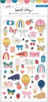 Sweet Story Puffy Stickers - Maggie Holmes