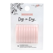 Blush Medium Planner Disc - Day-to-Day - Maggie Holmes