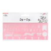 Pink Alphabet Stencil - Day-to-Day - Maggie Holmes