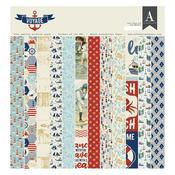 Voyage 12 x 12 Paper Pad - Authentique