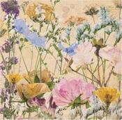 Flowers Paper - Botanical Journal - Bo Bunny