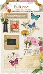 Layered Chipboard Stickers - Botanical Journal - Bo Bunny - PRE ORDER