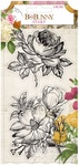 Botanical Journal Acrylic Stamps - Bo Bunny - PRE ORDER