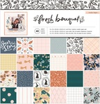 Fresh Bouquet 12 x 12 Paper Pad - Crate Paper