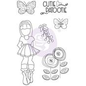 Ivy Prima Marketing Julie Nutting Mixed Media Cling Rubber Stamp
