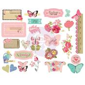 Butterfly Bliss Chipboard Stickers - Julie Nutting - PRE ORDER