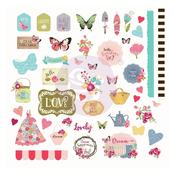 Butterfly Bliss Cardstock Ephemera - Julie Nutting - PRE ORDER