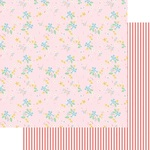 Sweet Floral Paper - A Cherry On Top - Fancy Pants