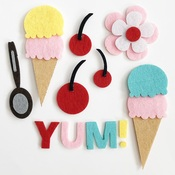 A Cherry on Top Felt Pieces - Fancy Pants - PRE ORDER