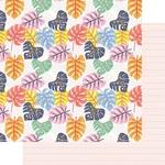 Tropical Leaves Paper - Vitamin Sea - Fancy Pants