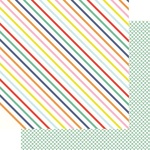 Happy Stripes Paper - Vitamin Sea - Fancy Pants