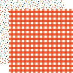 Picnic Gingham Paper - Summertime - Echo Park