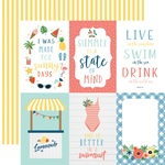 Journaling 4X6 Cards Paper - Summertime - Echo Park