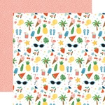 Sunshiny Day Paper - Summertime - Echo Park