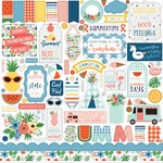 Summertime Element Sticker - Echo Park