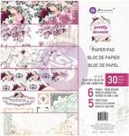 Pretty Mosaic 12 x 12 Paper Pad - Prima