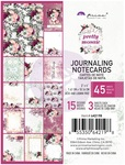 Pretty Mosaic 3 x4 Journaling Cards - Prima