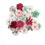 Larimar Flowers - Pretty Mosaic - Prima