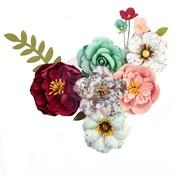 Emerald Dream Flowers - Pretty Mosaic - Prima