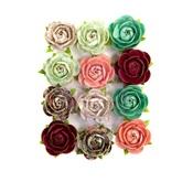 Peridot Flowers - Pretty Mosaic - Prima