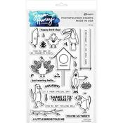 Bird Buddies Clear Stamps - Simon Hurley - PRE ORDER