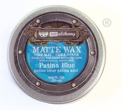 Patina Blue Wax Paste - Prima - PRE ORDER
