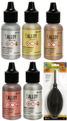 Tim Holtz Alloy Ink Bundle With Ink Blower - PRE ORDER