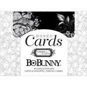 Tuxedos & Tiaras A2 Cards & Envelopes - Bo Bunny - PRE ORDER
