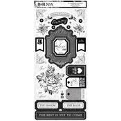 Tuxedos & Tiaras Cardstock Stickers - Bo Bunny