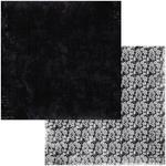 Pinstripes Paper - Tuxedos & Tiaras - Bo Bunny