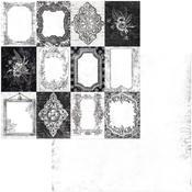 Frames Paper - Tuxedos & Tiaras - Bo Bunny