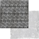 Lace Paper - Tuxedos & Tiaras - Bo Bunny