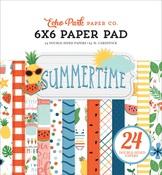 Summertime 6x6 Paper Pad - Echo Park