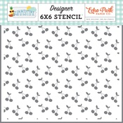 Sweet Cherries Stencil - Summertime - Echo Park - PRE ORDER