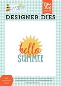 Hello Summer Sun Die Set - Summertime - Echo Park