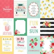 Journaling 3X4 Cards Paper - Summer Market - Carta Bella