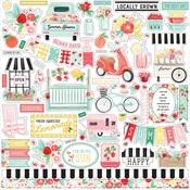 Summer Market Element Sticker - Carta Bella