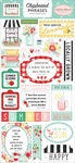 Summer Market Chipboard Phrases - Carta Bella - PRE ORDER