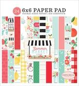 Summer Market 6x6 Paper Pad - Carta Bella