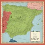 Spain Map Paper - Cartography No.2 - Carta Bella