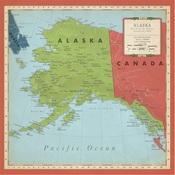 Alaska Map Paper - Cartography No.2 - Carta Bella