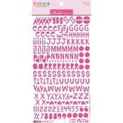 Punch Bella Florence Alphabet Stickers